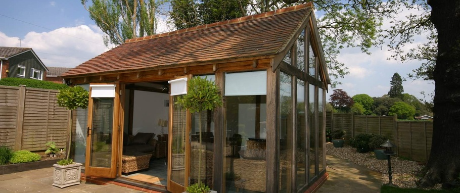 An Oak Summerhouse Is An Ideal Place To Escape The Hustle And Bustle Of  Life Indoors, Enjoy Your Garden From A Different Perspective And Provide A  ...