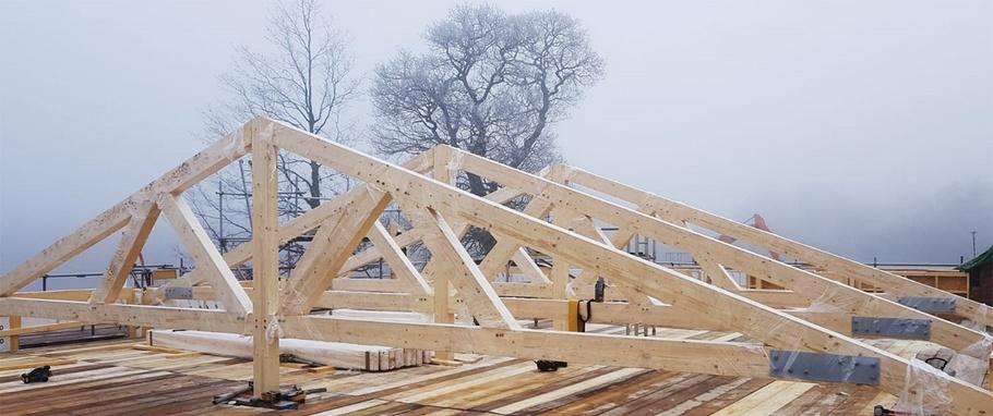 Glulam timber frames – Oakmasters embraces a new material - Oakmasters