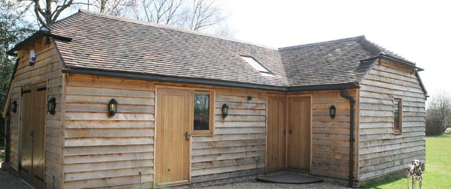 How To Make Your Oak Framed Garage As Impressive As Your Property
