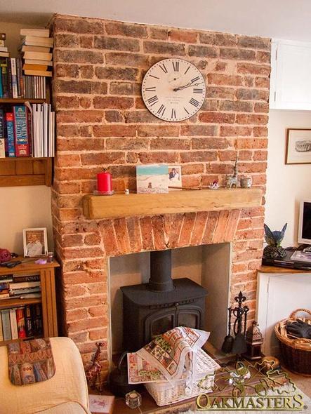Contemporary Oak Fireplaces Oakmasters