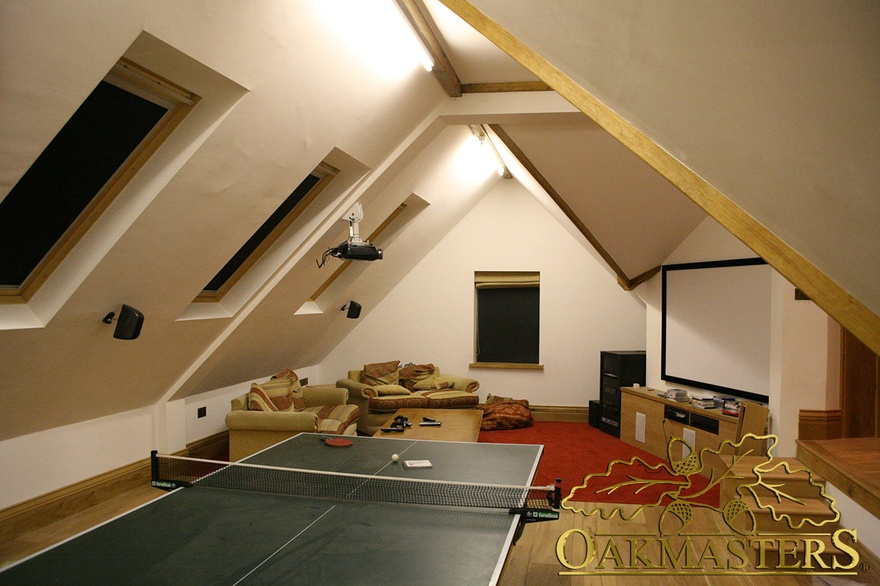 1 bay garage and games room l shaped complex oakmasters for L shaped garage