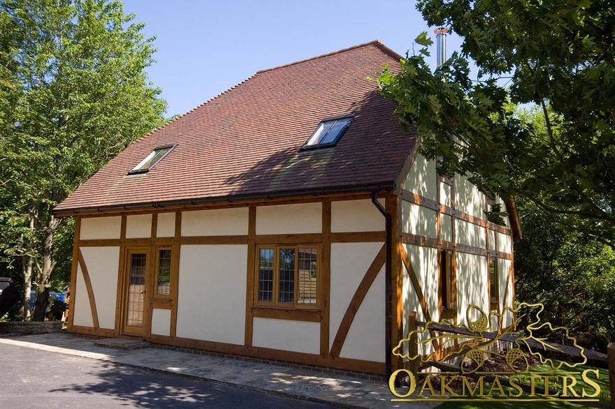 Oak Framed Garden House Oakmasters