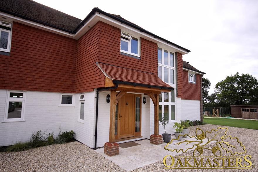 simple but effective design for a porch 5420 oakmasters. Black Bedroom Furniture Sets. Home Design Ideas
