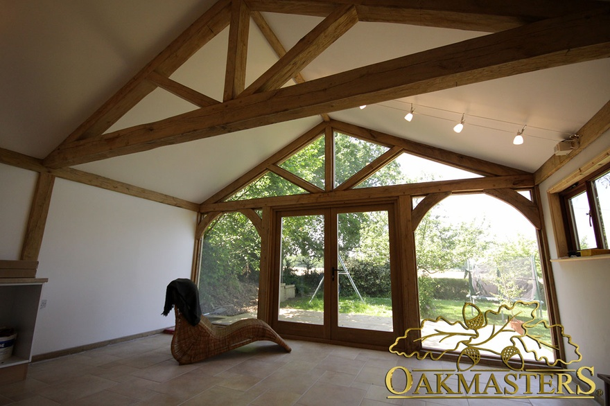 Trusses And Roofs With Restricted Height Oakmasters