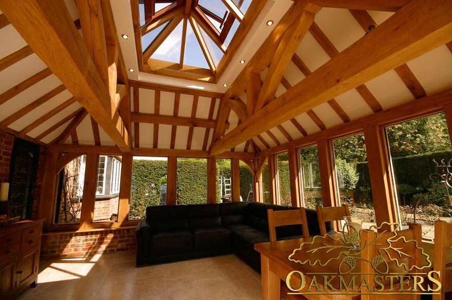 Garden Room On Listed Brick Manor House Oakmasters