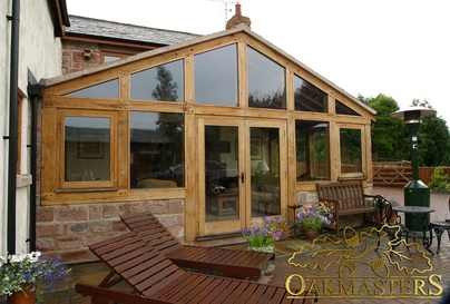 Galleries for oak sun rooms orangeries and garden rooms for Garden rooms cheshire