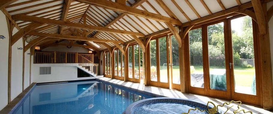 Pool house building regulations uk