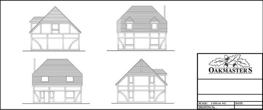 Timber Framed Building: Planning Design - Oakmasters