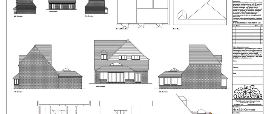 How Oakmasters can help Architects and Builders - Oakmasters