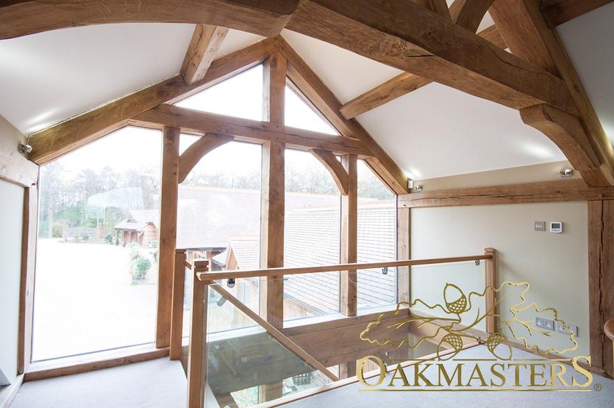 Single storey glazed oak extension - Oakmasters