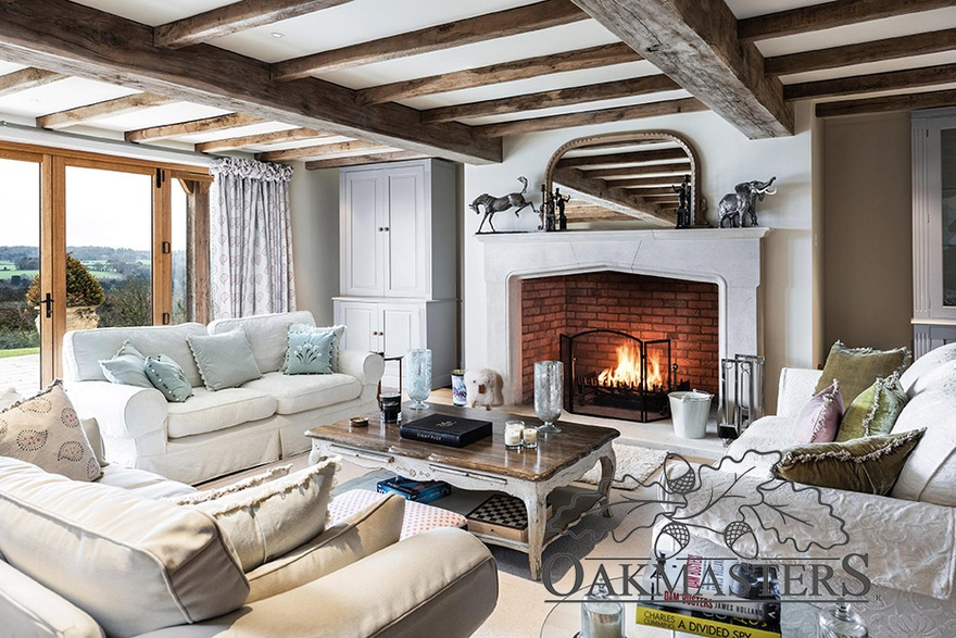 ceiling beams and beam layouts oakmasters rh oakmasters co uk
