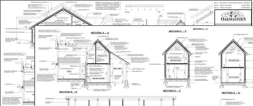 Oak Frame: Building regulations detail and applications - Oakmasters