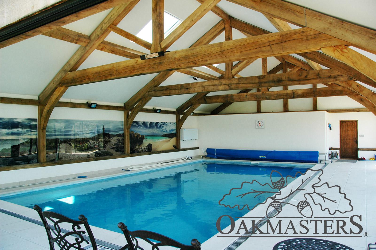 Case study: An oak framed pool house that brings joy all year round