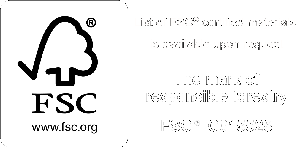 Oakmasters is accredited by The Control Union on Behalf of the FSC